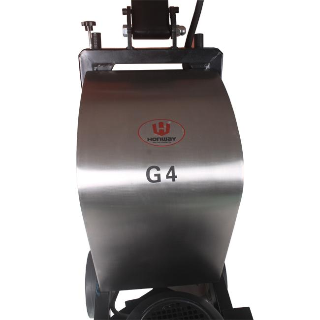 Old Coating Removal Concrete Floor Grinding Machine 4KW Motor Variable Speed