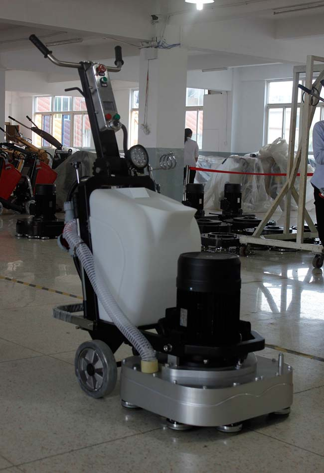 15KW Electrical Motor Concrete Floor Grinding Machine Four Square Heads