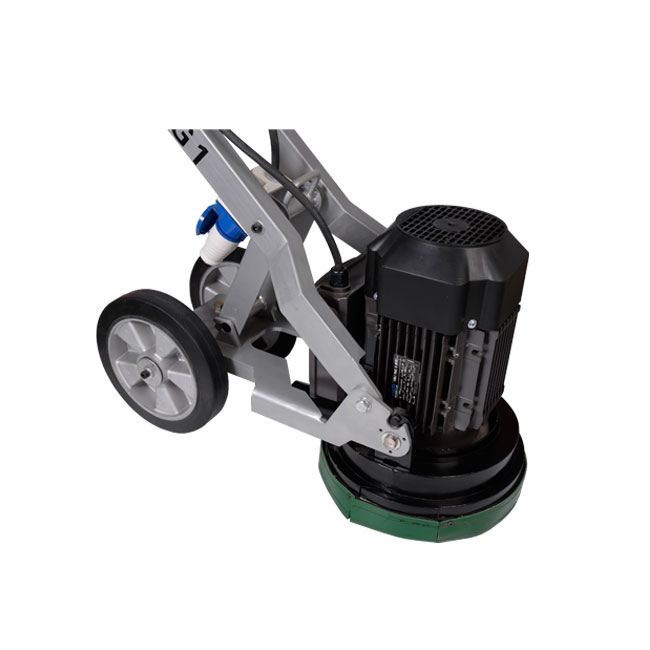 Lightweight Walk Behind Floor Grinder , Single Head Granite Floor Polishing Machine
