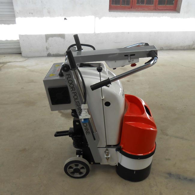 Dual Grinding Heads 4KW Terrazzo Floor Grinding Machines For Small Area