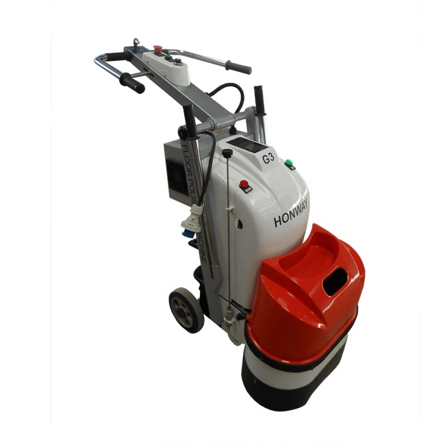 Walk Behind Concrete Grinder Dual Disc Electric , Concrete Polishing Hire Equipment