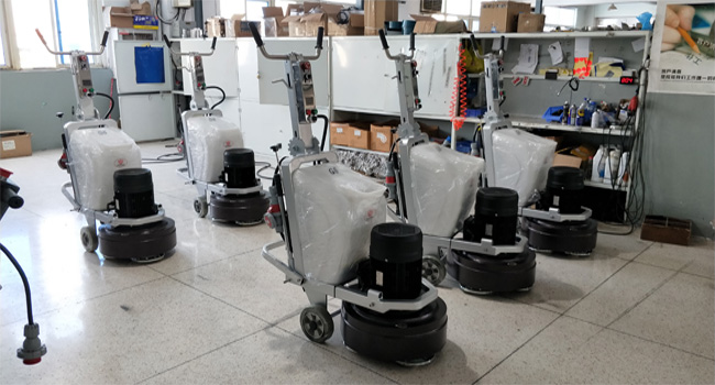 Terrazzo Marble Granite Concrete Polishing Equipment , Cement Floor Grinder Rental
