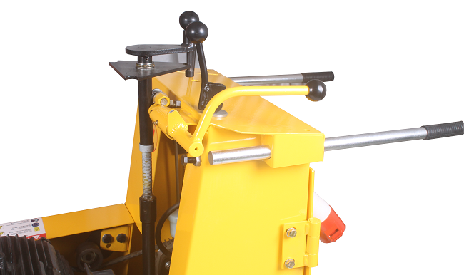 Lockable Cement Scarifier Concrete Surface Preparation Equipment Quick Change Drum Design