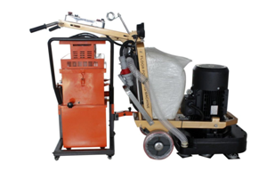 Industrial Blow Concrete Grinding Vacuum Cleaners 2.2kw 360m³ / Hour Air Flow