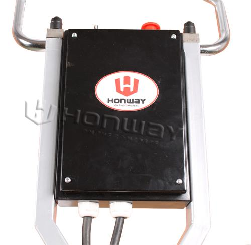 110 V Concrete Floor Grinding Machine 280mm Grinding Width Single Plate