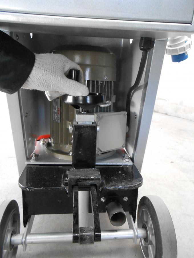 550mm Grinding Width Concrete Floor Grinder Machine Two Grinding Heads 4kw