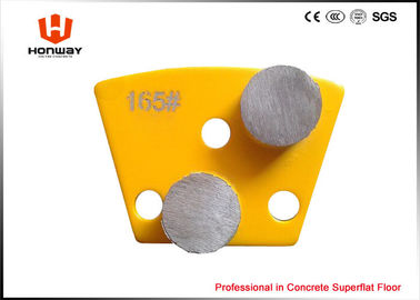 China Durable Terrazzo Grinding Pads , Metal Grinding Pads D22*T12mm Bond Size supplier