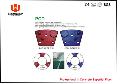 China Fast Speed Marble Grinding Pads , Concrete Grinding Tools Soft / Medium / Hard Bond supplier