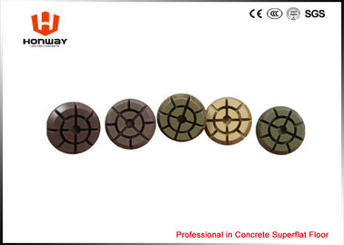 China Multi Colored Diamond Floor Polishing Pads 10mm Thick  Long Using Life supplier