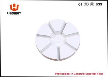 China Wnite Marble Floor Polishing Pads For Floor Preparation Machine 80mm Size supplier