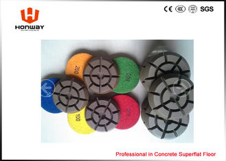 China High Speed Polishing Pads , 3'' Dry Concrete Polishing Pads For Grinder supplier