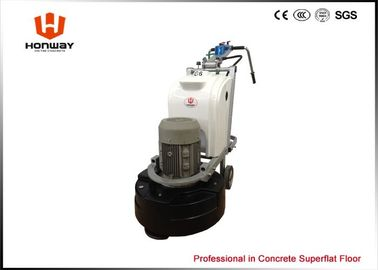 China 300-1600rmp Speed Concrete Floor Grinding Machine With Diamonnd Pads 20.3A/11.7A supplier