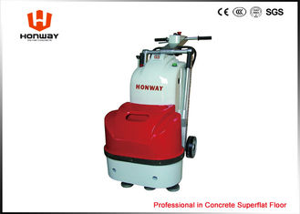 China 7.6A Terrazzo Floor Polishing Machine Rental , Dual Heads Concrete Smoother Machine supplier