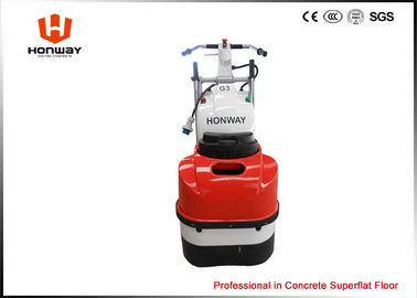 China Walk Behind Concrete Grinder Dual Disc Electric , Concrete Polishing Hire Equipment supplier