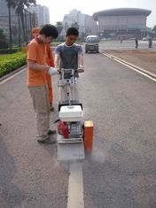 China Commercial Floor Surface Preparation Machine , Cement Scarifier For Road supplier