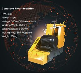 China Lockable Cement Scarifier Concrete Surface Preparation Equipment Quick Change Drum Design supplier