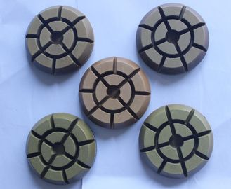 China 12 Thick Wet Dry Diamond Polishing Pads , 3 Inch Diamond Polishing Pads For Concrete supplier