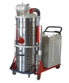 China 76DB Noise Concrete Grinding Vacuum Cleaners Industrial Dust Hoover 570m³ / Hour supplier
