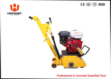 China Yellow Concrete Scarifier Machine Remove Road Line From Concrete Floor And Asphalt Floor supplier