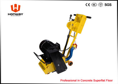 China Mini Concrete Scarifier Machine , Walk Behind Scarifier For Epoxy Floor / Asphalt Floor supplier