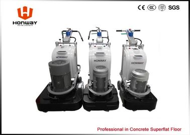 China Low Noise LED Light Home Marble Floor Polishing Machine 12 Grinding Heads supplier
