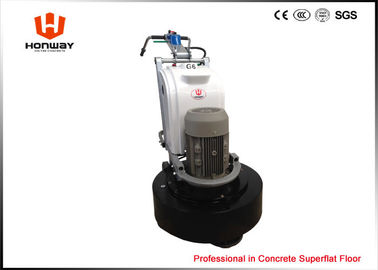 China Hand Push Type Terrazzo Grinding Equipment , Stone Floor Polishing Machine Bell Driven supplier