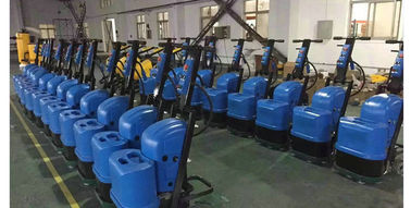 China Blue Terrazzo Floor Grinding Machines For Vacuum Cleaner Wet And Dry Grinding supplier