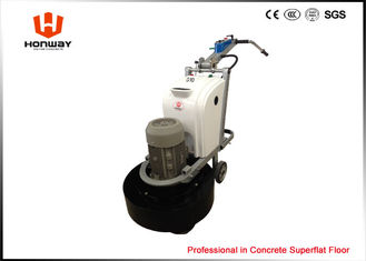 China Concrete Terrazzo Polishing Machine 650mm Working Width 4 Round Grinding Heads supplier