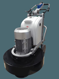 China 7.5 Kw Walk Behind Concrete Floor Grinding Machine 12 Heads Four Grinding Plate supplier
