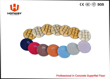 Durable 80mm Granite Floor Polishing Pads Waterproof #50 - #3000 Grit