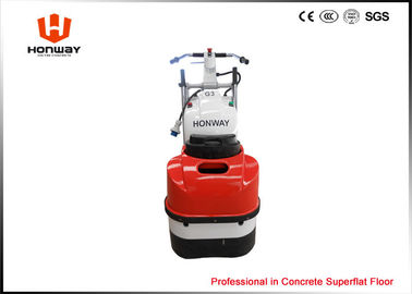 Dual Heads Industrial Concrete Floor Grinding Machine With Inverter