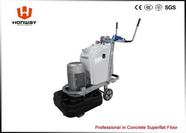 China Square Design Cement Polishing Machine , Industrial Concrete Grinder To Level Floor distributor