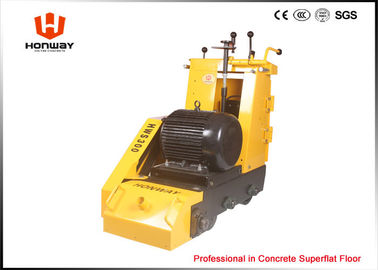 China Durable Concrete Planer Machine , Cement Planer With Scarifier Drum / TCT Cutters distributor
