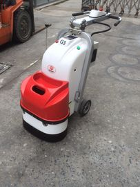 China Dual Head Grinding Plate Electric Floor Grinder With Gear And Belt Driven factory